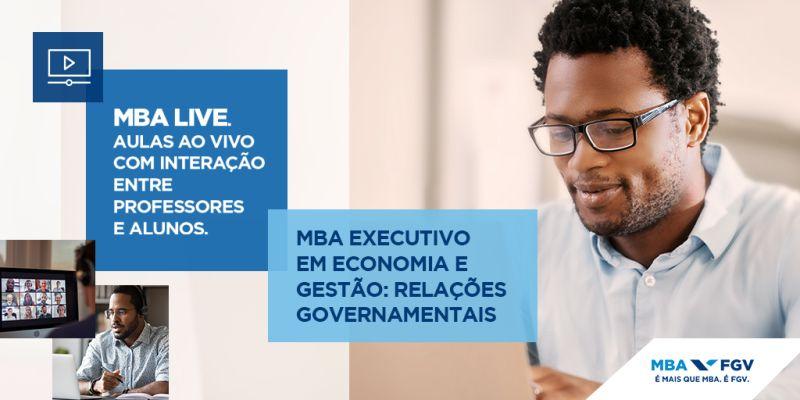 Lançamento da Turma 2 do MBA LIVE FGV coordenado pelo Prof. Dr. Rodrigo Navarro